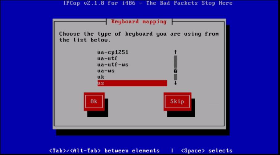 Installation-IPCop-manages-firewall-appliance-Linux-net-filter-framework-type-keyboard