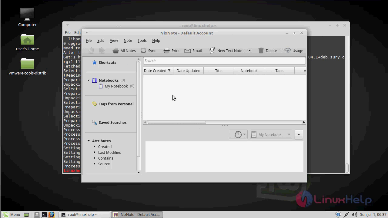 How to Install Nixnote on Linuxmint-18 03 | LinuxHelp Tutorials