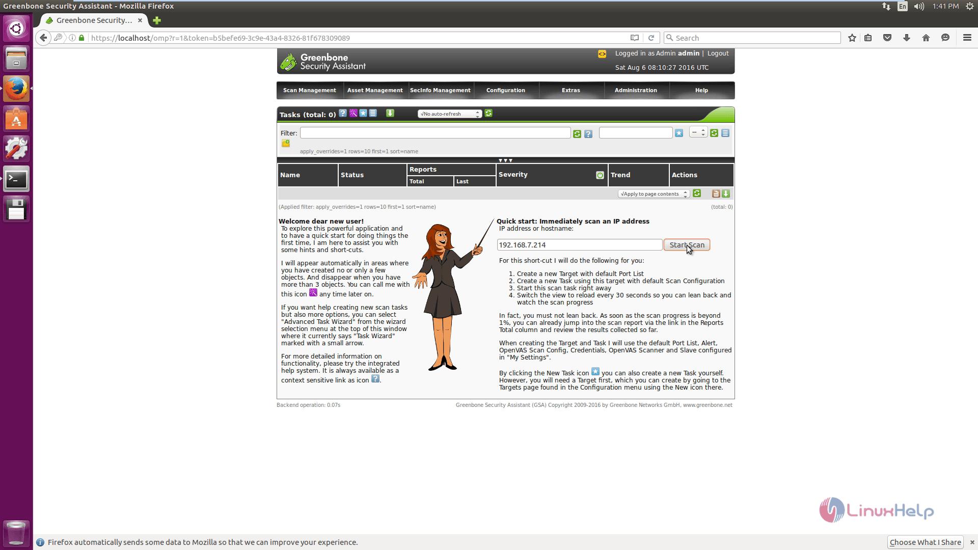 How to Install OpenVAS Vulnerability Scanner in Ubuntu