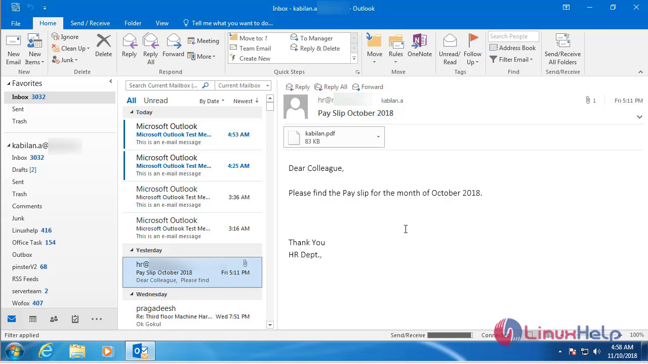 How to configure Microsoft Outlook 2016 to access your