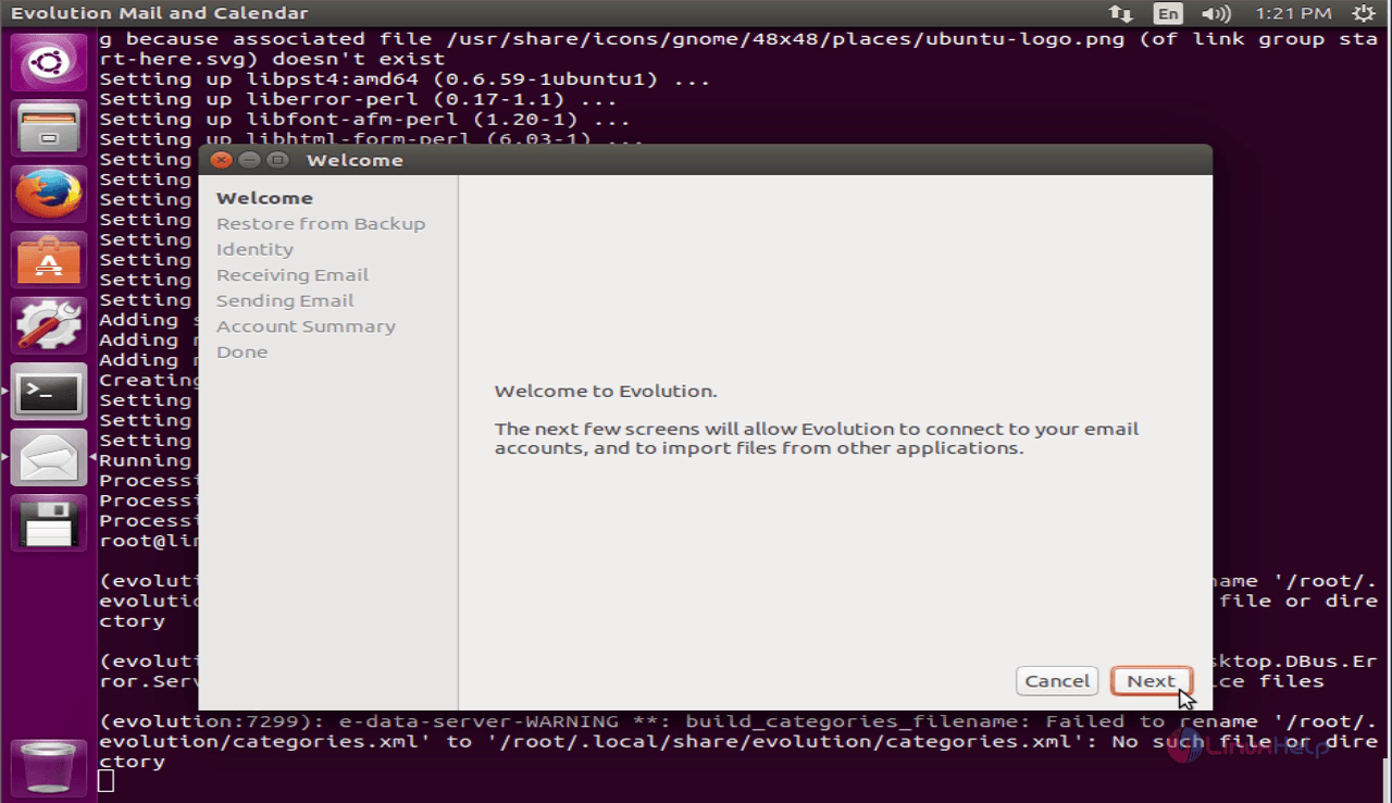 How to install Evolution mail client in Ubuntu | LinuxHelp