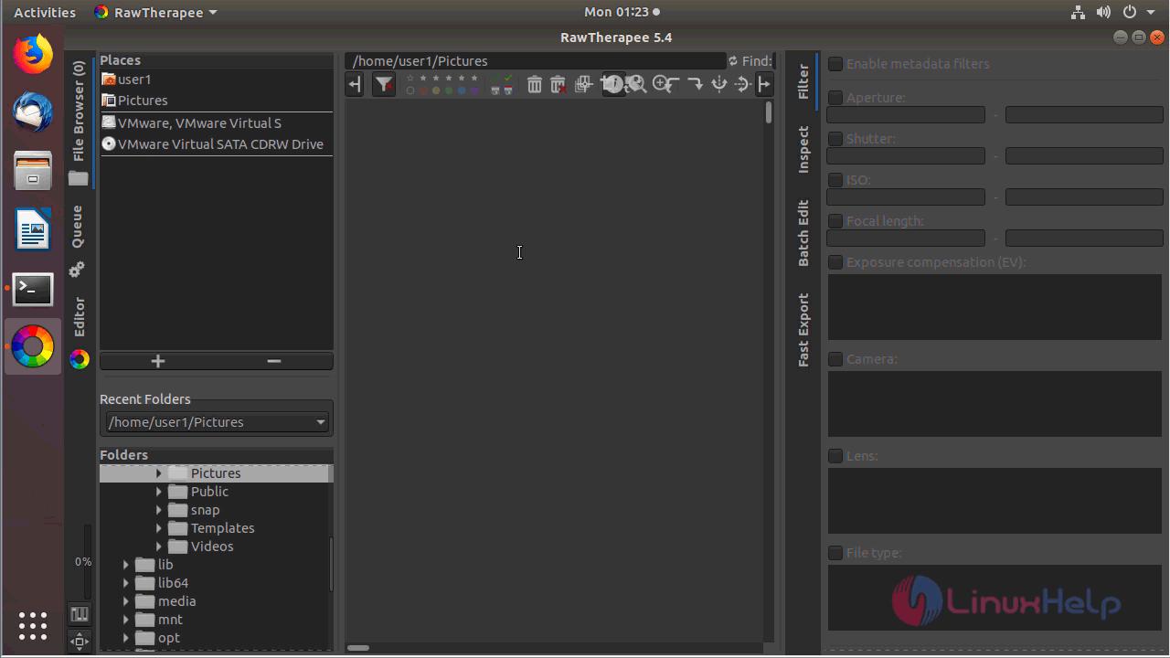 How to install RawTherapee 5 4 on Ubuntu 18 04 | LinuxHelp Tutorials