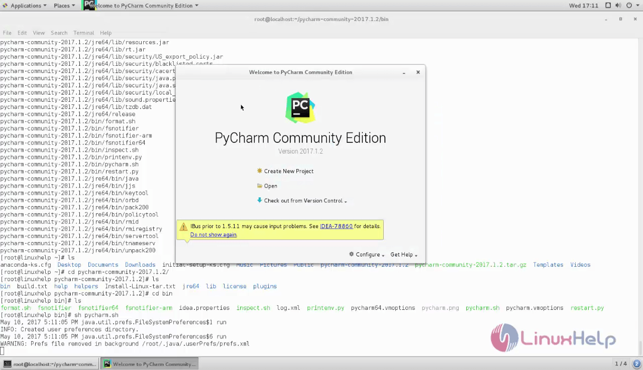 How to install Pycharm on CentOS 7 | LinuxHelp Tutorials