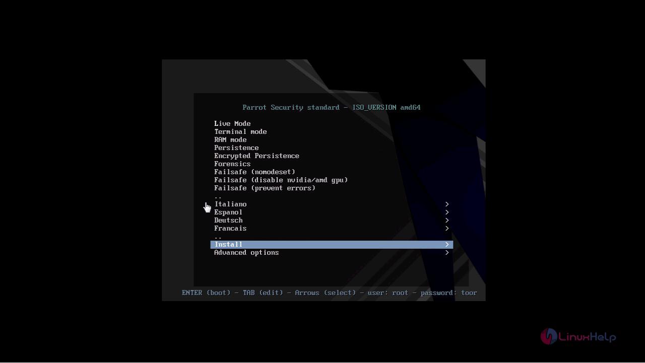 How to install ParrotOS 3 9 | LinuxHelp Tutorials