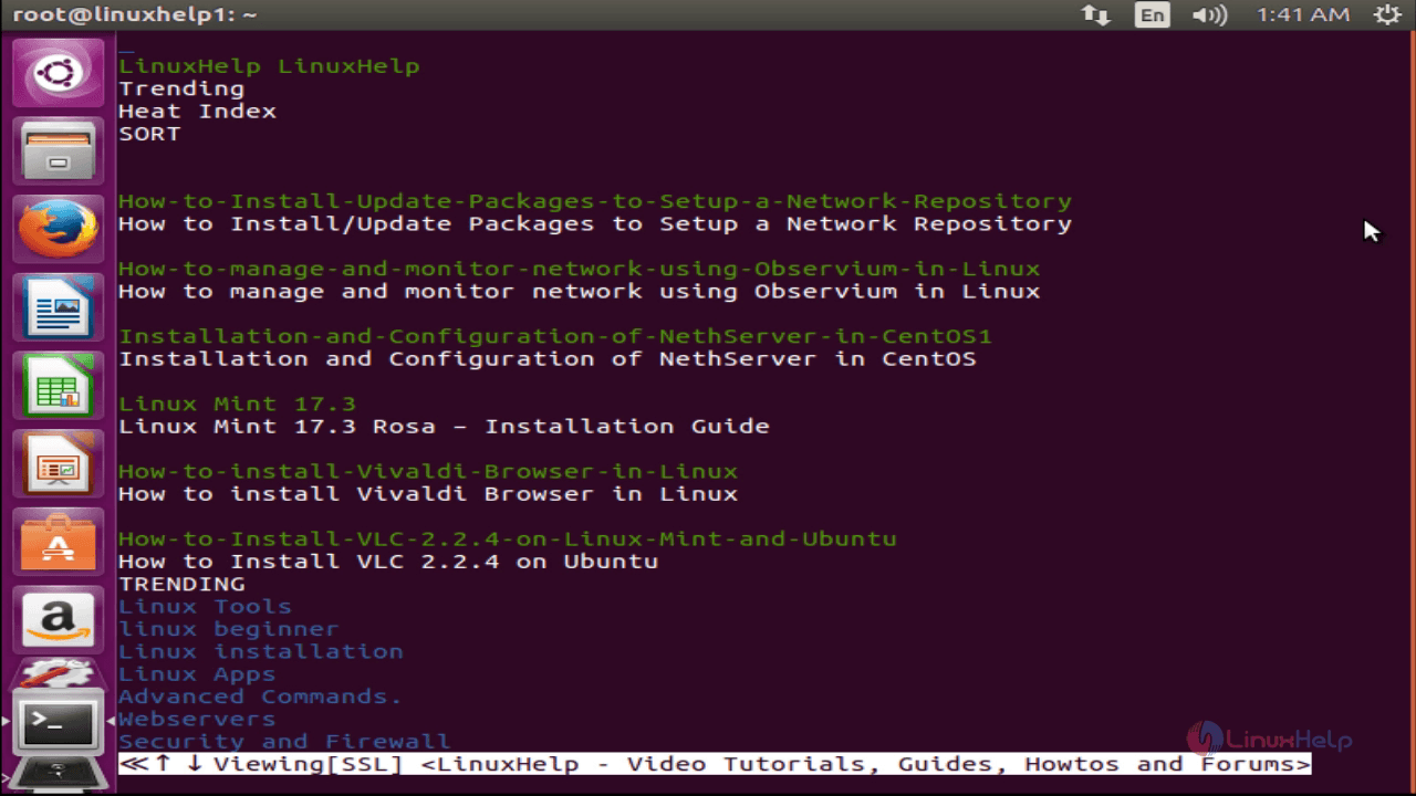 How to Access google from Linux Terminal | LinuxHelp Tutorials
