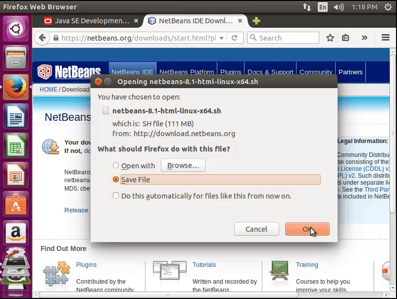 How to Install Netbeans and Java JDK in Ubuntu 14 04 and Set Up a