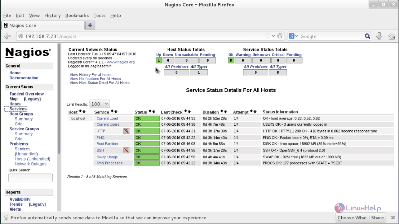 How to add client in Nagios Monitoring Server by using NRPE