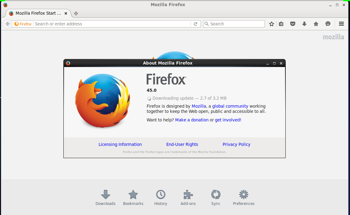 How to Update Firefox 45 in RHEL / Centos 6 | LinuxHelp