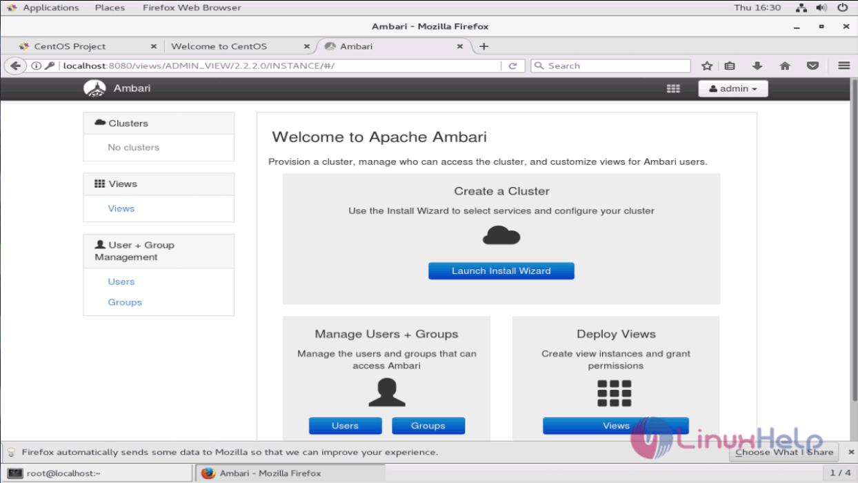 How to install Ambari Server on CentOS 7 | LinuxHelp Tutorials