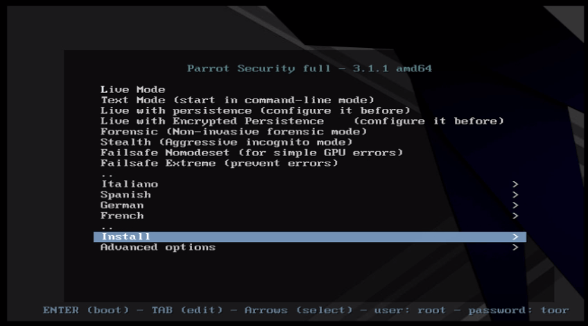 How to install Parrot security OS 3 1 1 | LinuxHelp Tutorials