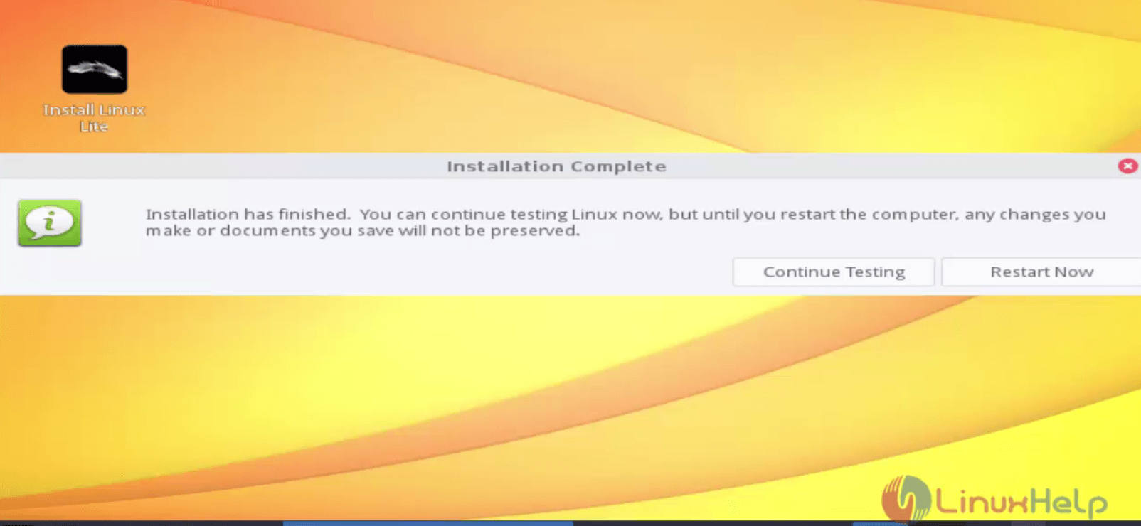 How to install Linux Lite 3 0   LinuxHelp Tutorials
