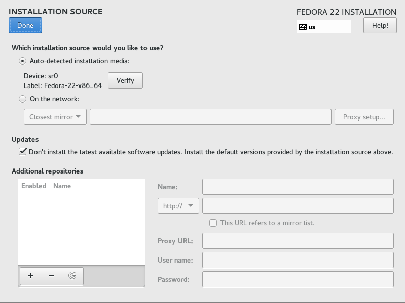 How to Install Fedora 22 Server | LinuxHelp Tutorials