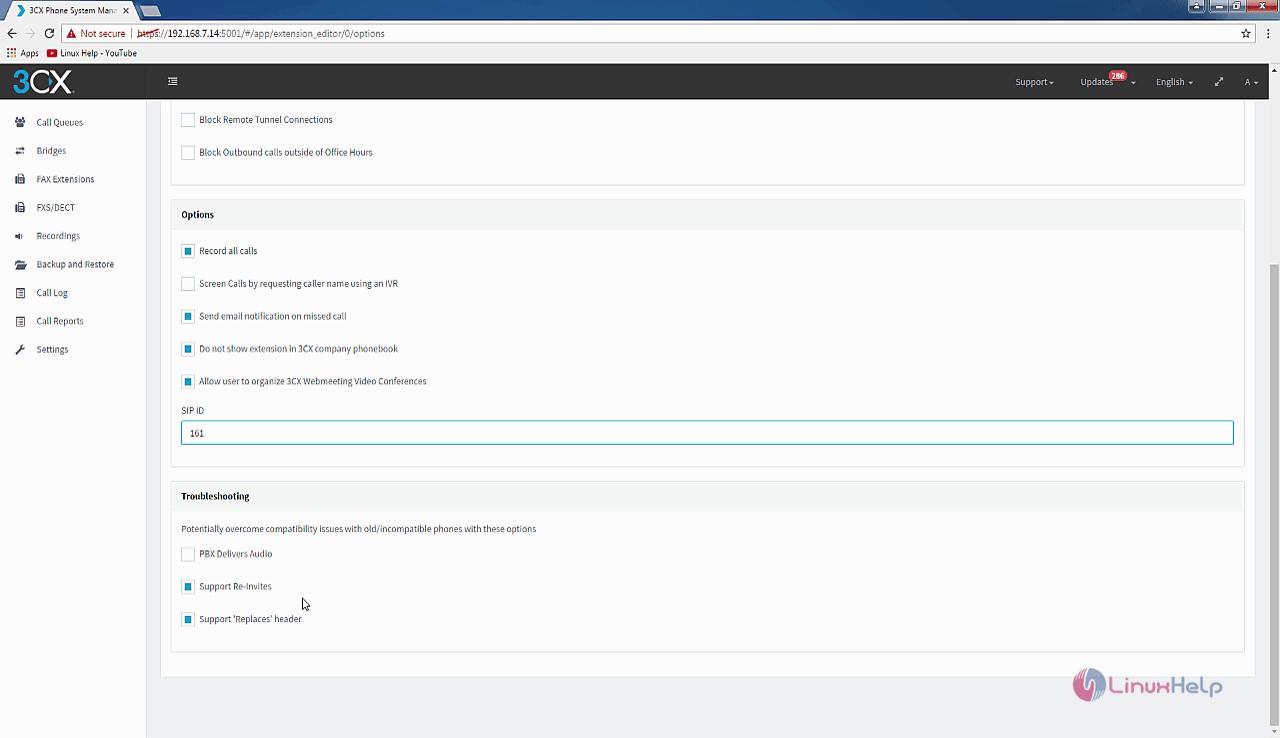 How to create extension in Elastix 5 | LinuxHelp Tutorials