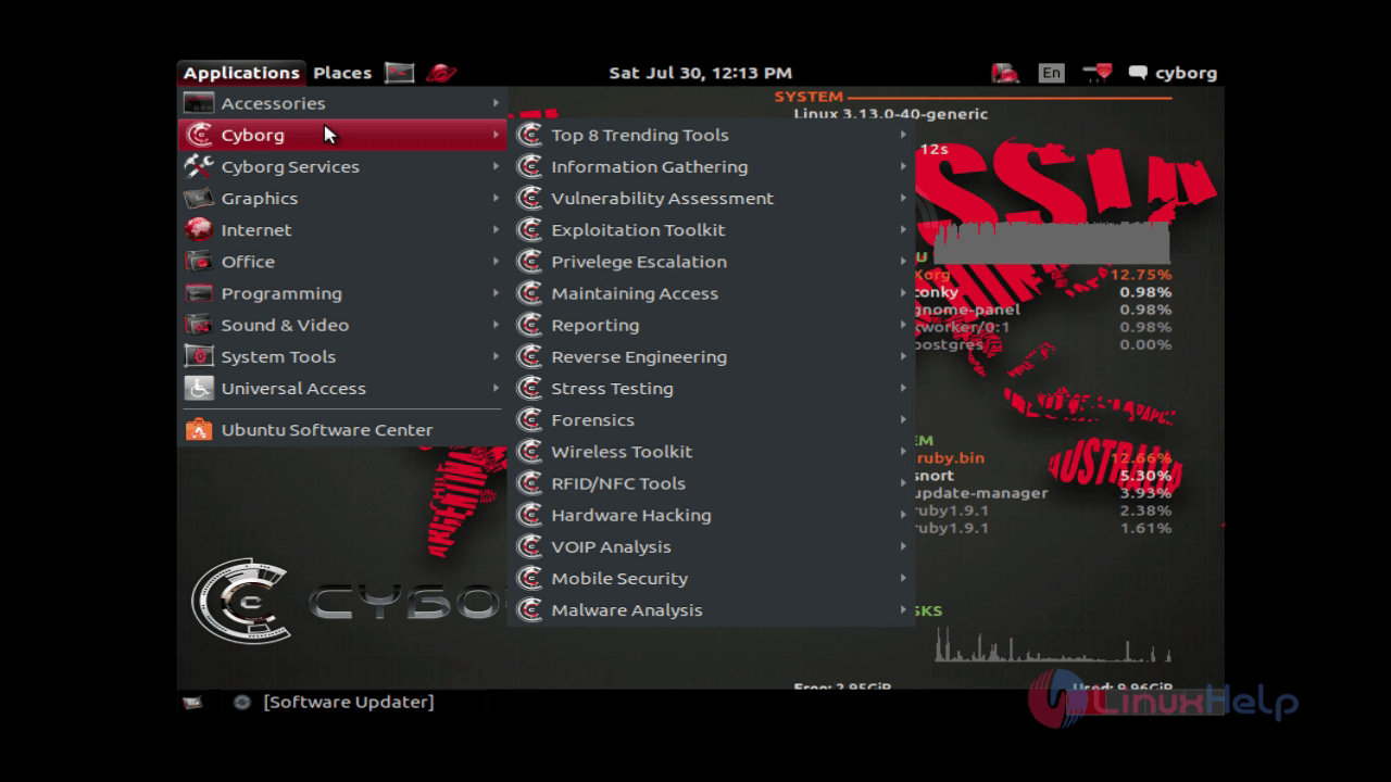 cyborg linux iso