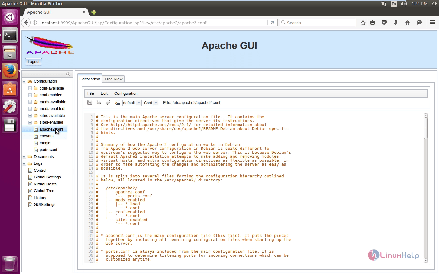 How to Install Apache Web Server from Web Browser - Apache GUI Tool