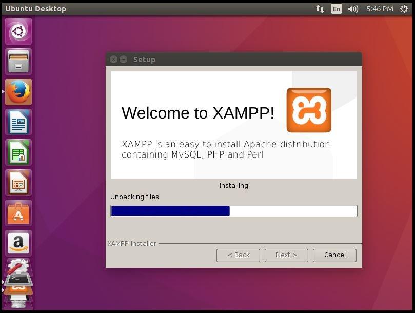 Installation-XAMPP-Stack-PHP-Apache-web-server-MySQL-database-Perl-famework-installs-Apache-environment-Ubuntu-XAMPP-installation