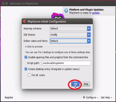 phpstorm download ubuntu 16.04