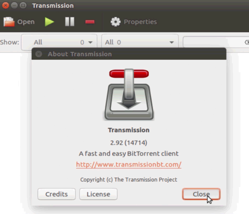 How to install Transmission BitTorrent client 2 92 on Ubuntu