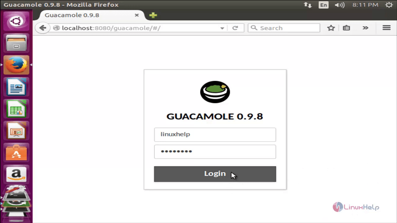 How to set up Guacamole Tool to Access Remote Linux/Windows Machines
