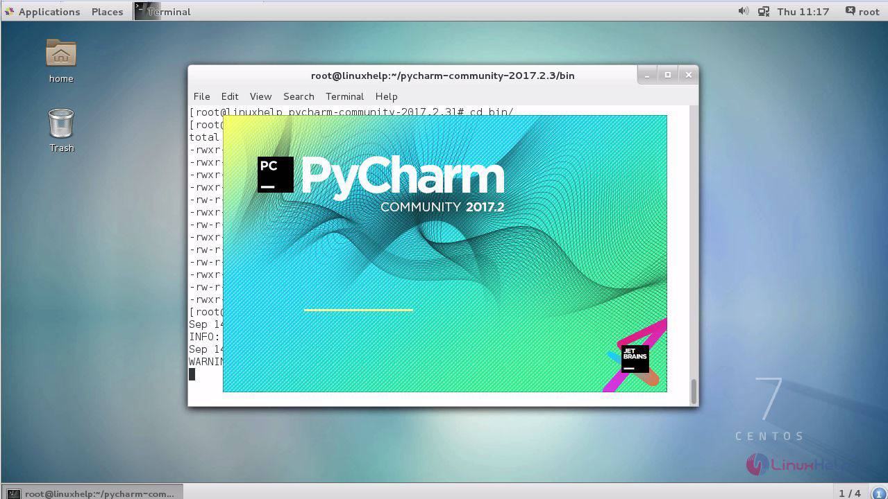 How to install PyCharm 2 3 on CentOS 7 | LinuxHelp Tutorials