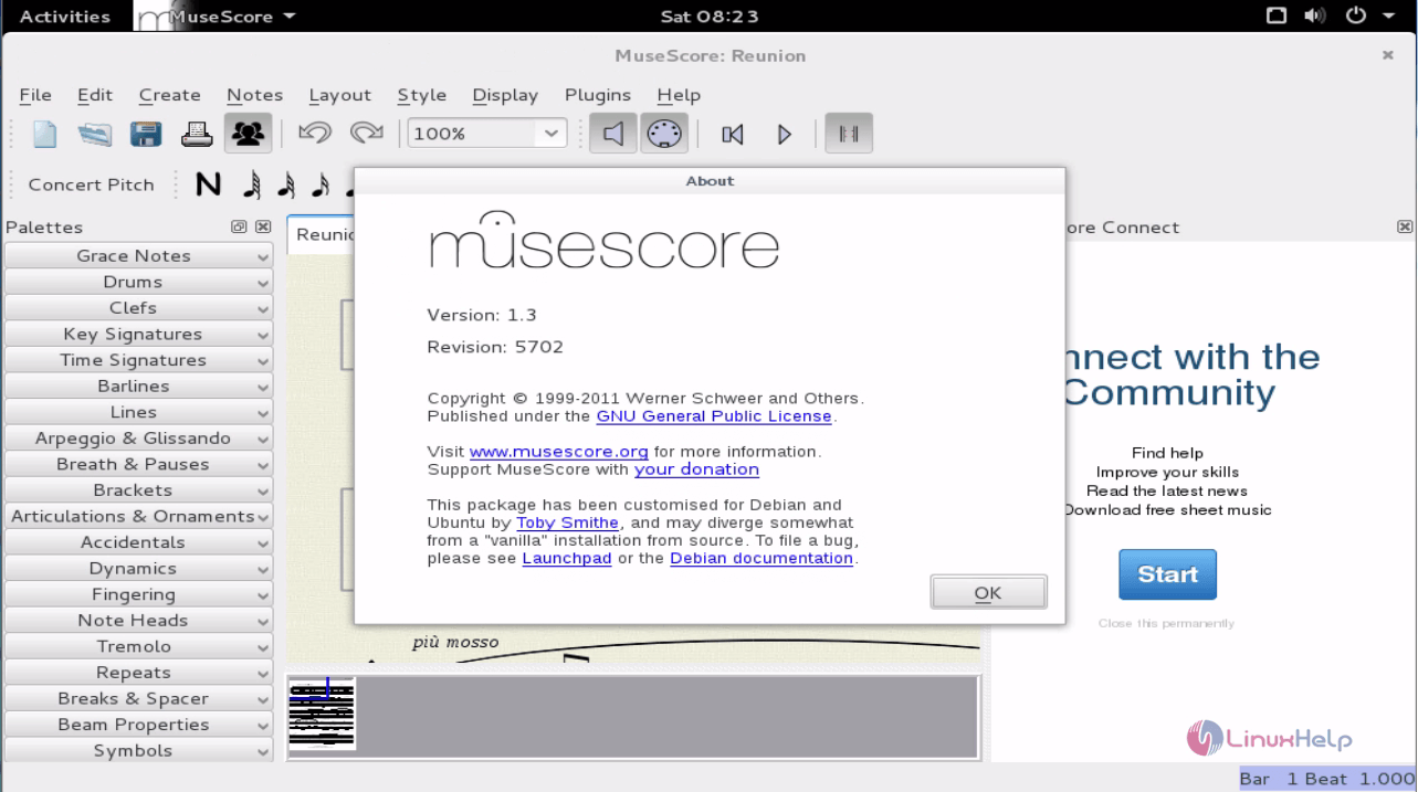 How to Install Musescore on Debian 8 3 | LinuxHelp Tutorials