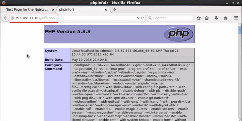 installation-LEMP-CentOS-browser