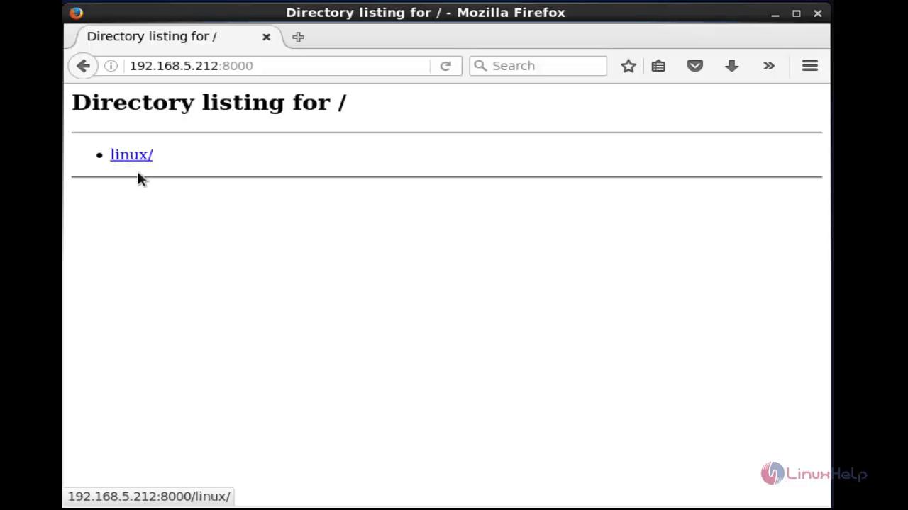 How to Create Webserver- Python 'SimpleHTTPServer' | LinuxHelp Tutorials