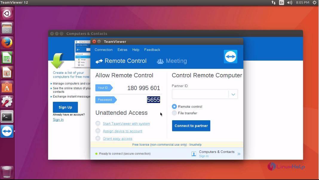 How to install Team Viewer on Ubuntu 17 04 | LinuxHelp Tutorials