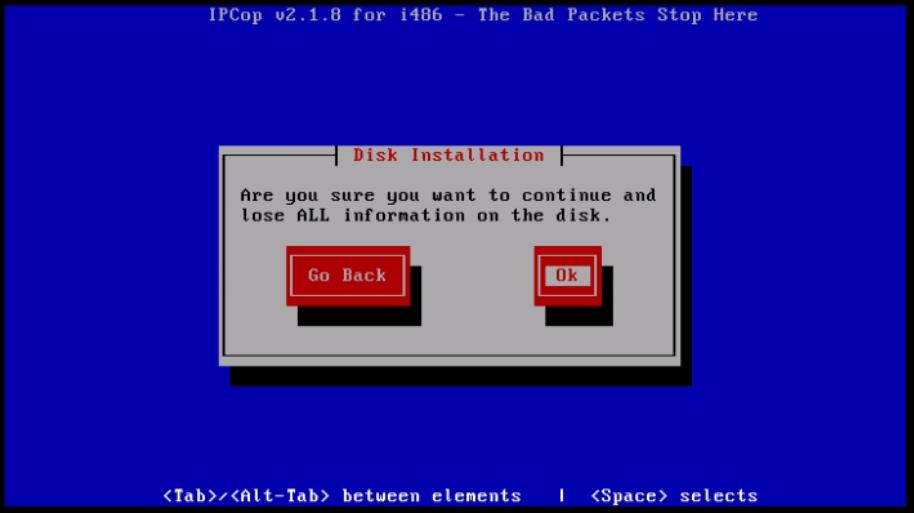 Installation-IPCop-manages-firewall-appliance-Linux-net-filter-framework-disk-selection