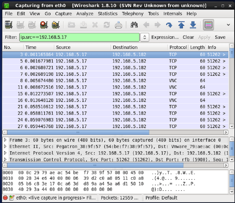 How to Monitor Network packet using Wireshark | LinuxHelp