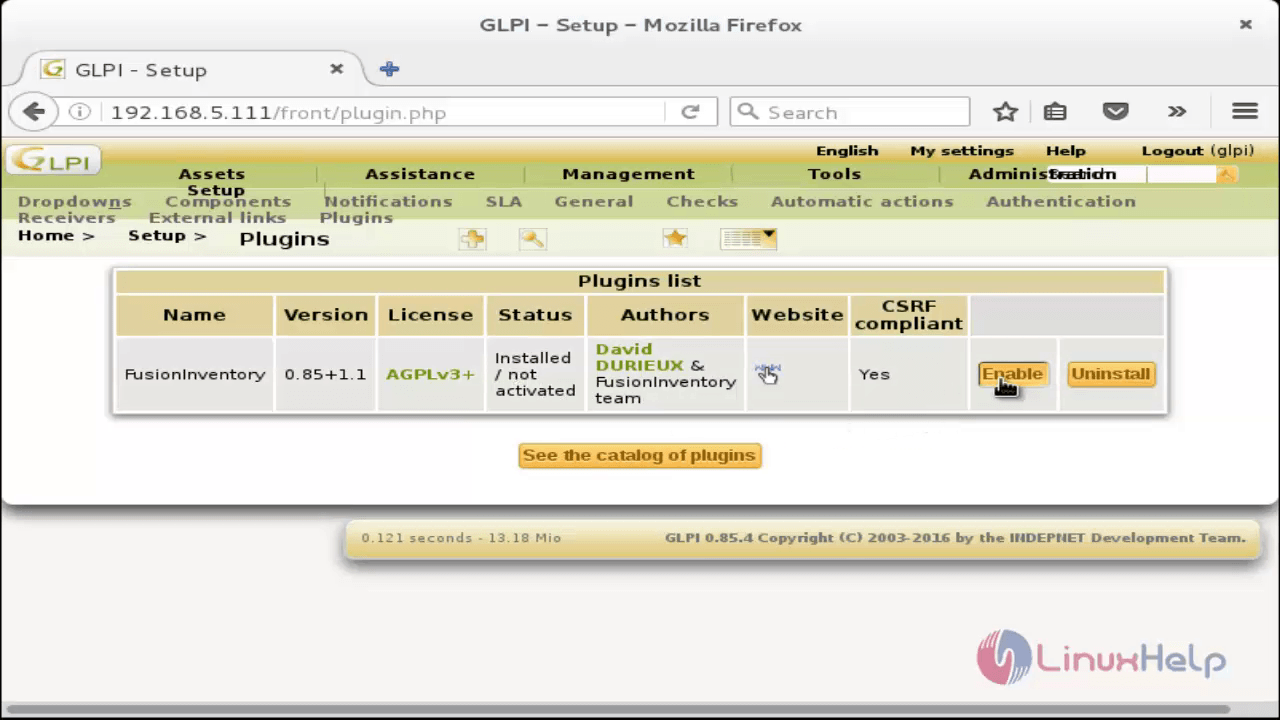 How To Install GLPI Tool in Linux | LinuxHelp Tutorials