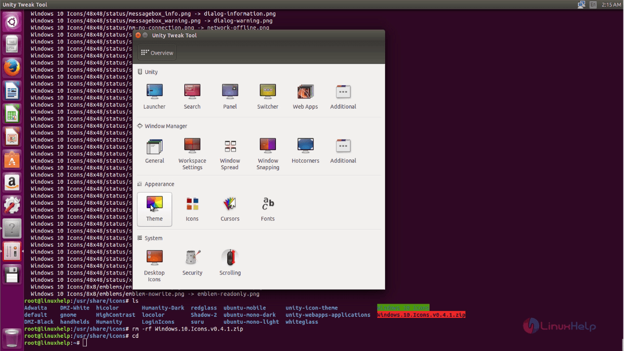 How to Install Windows 10 Themes and Icons on Ubuntu