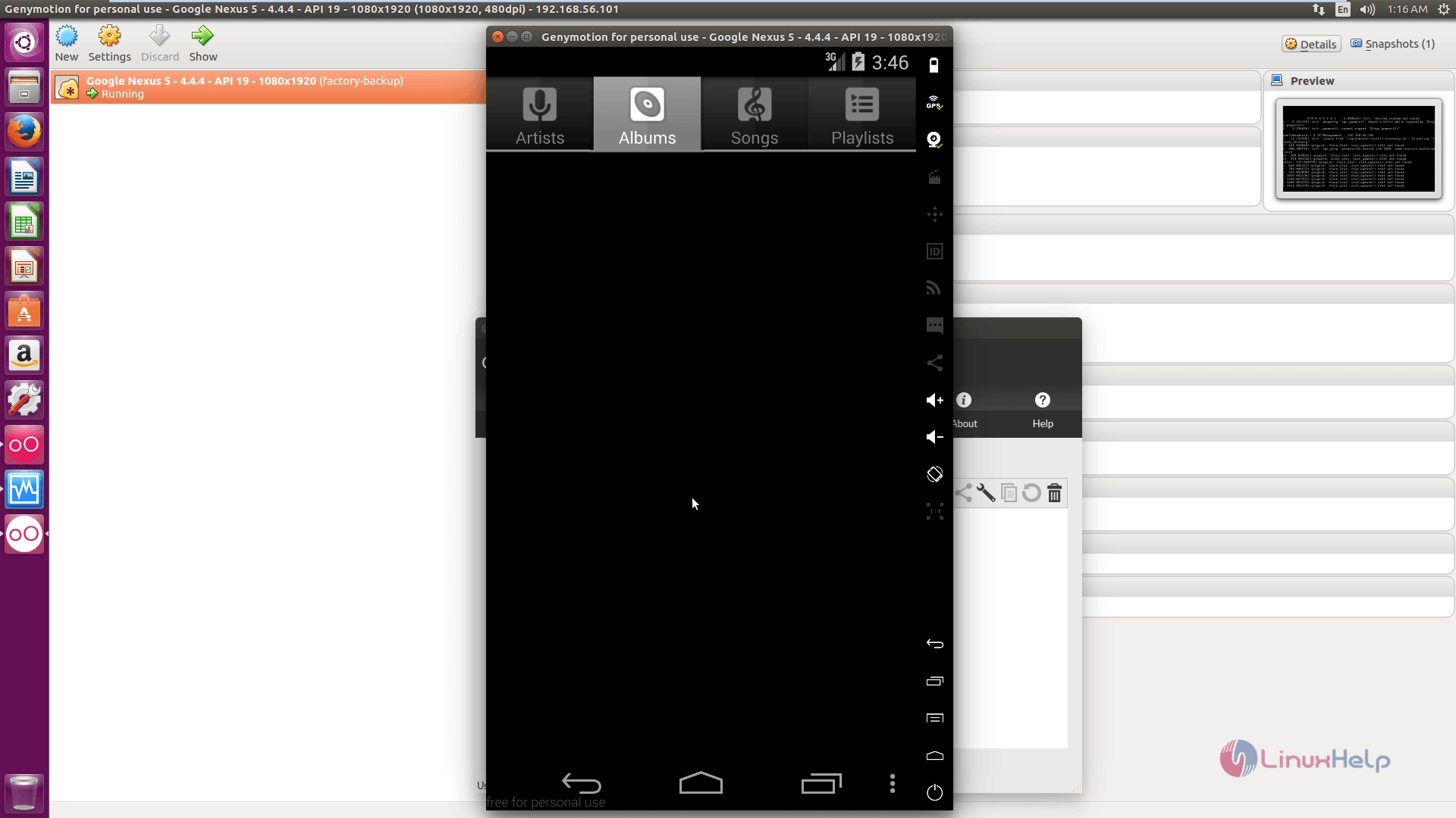 How to run Android Apps in Ubuntu - Genymotion Emulator   LinuxHelp