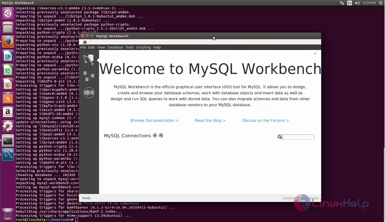 How to install Mysql Workbench on Ubuntu | LinuxHelp Tutorials