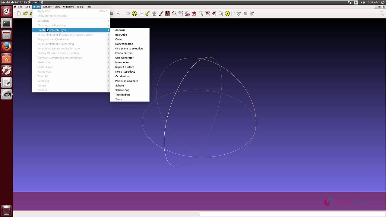 How to install MeshLab in Ubuntu | LinuxHelp Tutorials