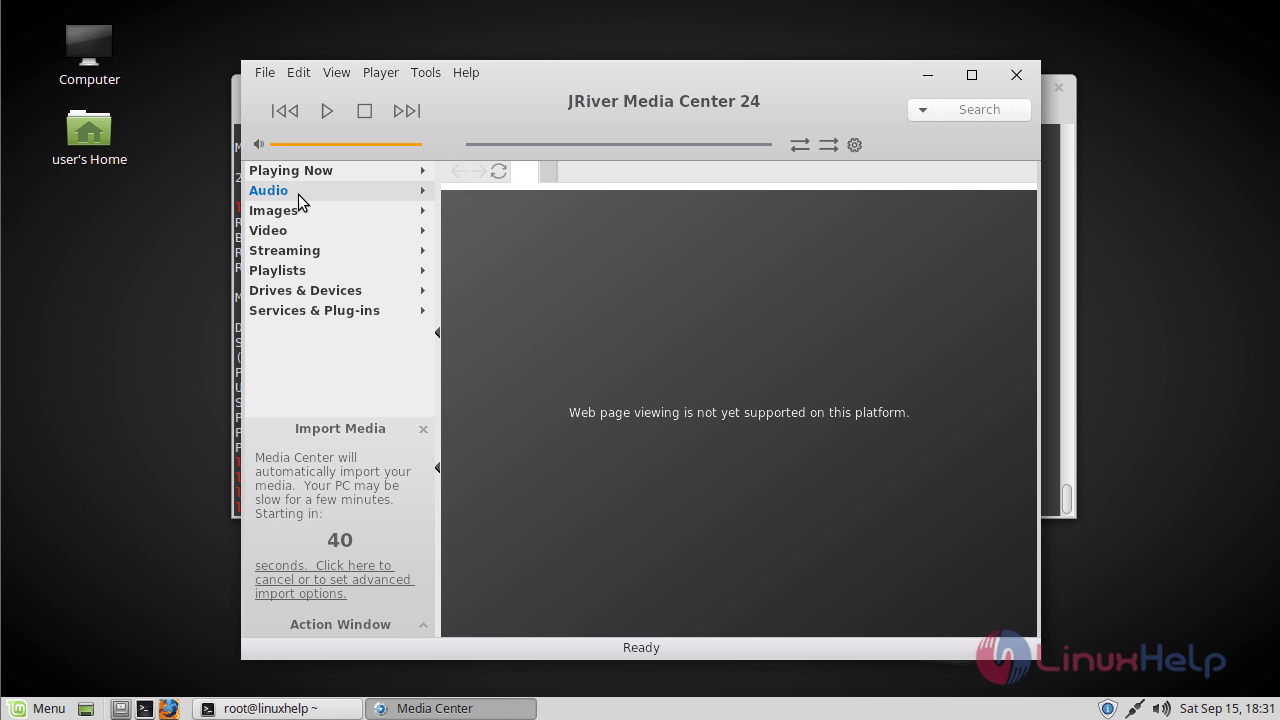 How to install JRiver Media Center on Linux mint 18 03