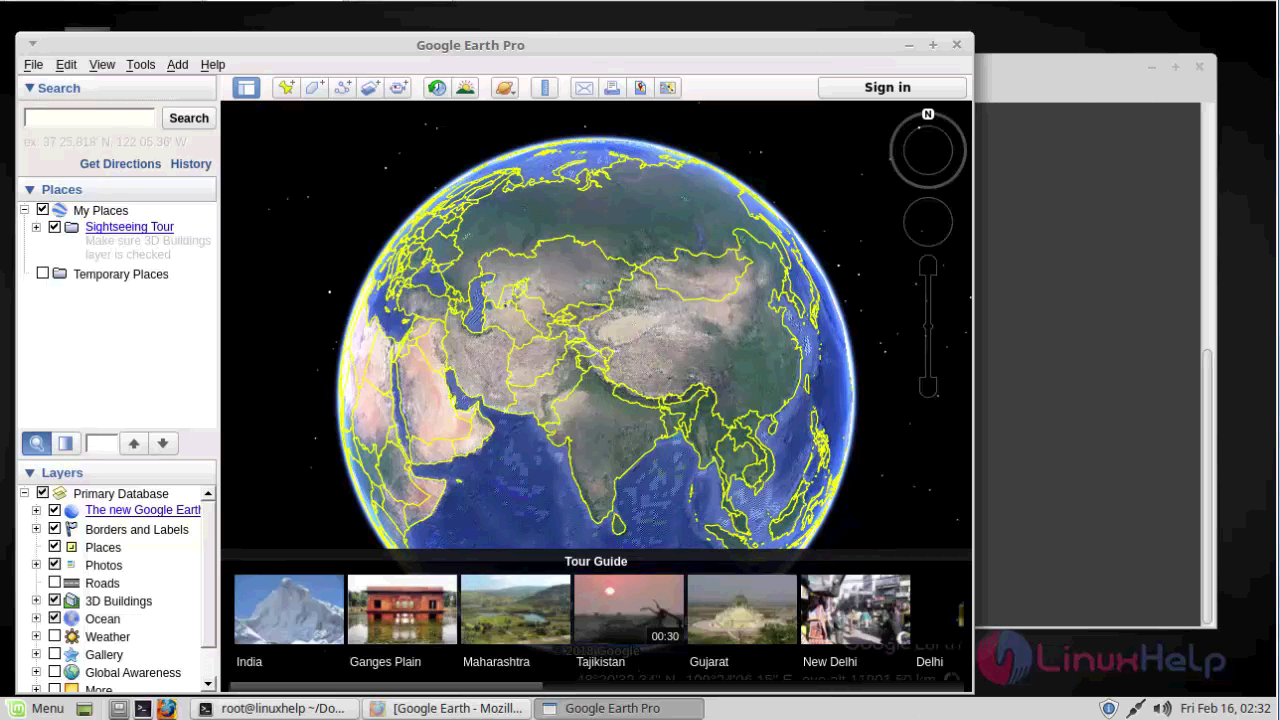 install google earth linux mint 18