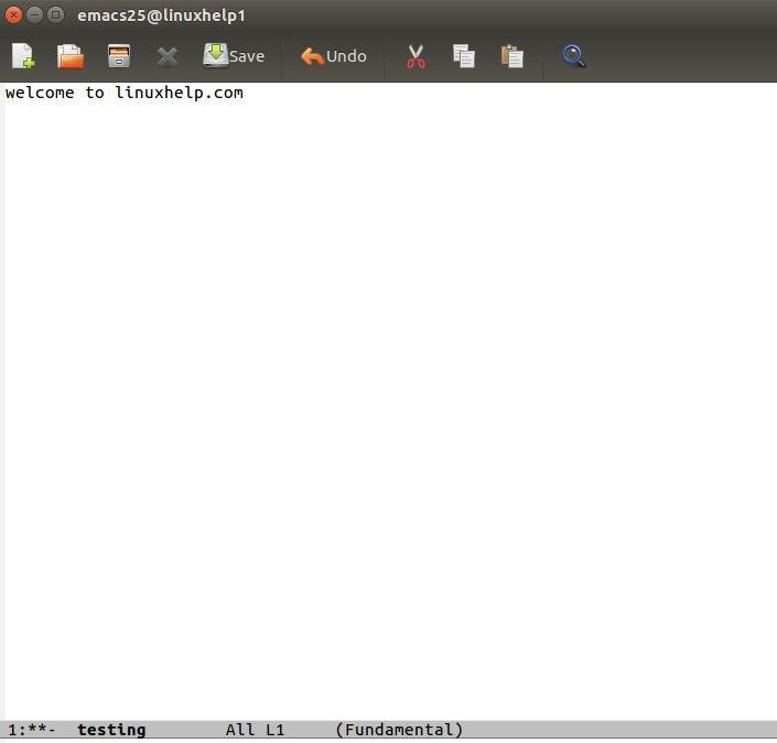 How to install Emacs 25 1 1 on Ubuntu 16 04 | LinuxHelp Tutorials
