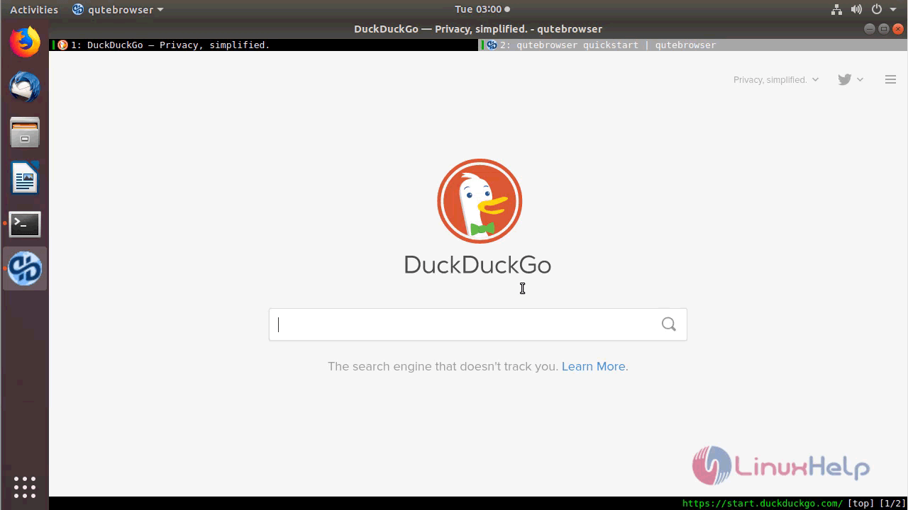 How to install QuteBrowser on Ubuntu 18 04   LinuxHelp Tutorials