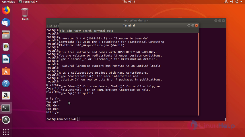 How To Install R (R Studio) on Ubuntu 18 04  | LinuxHelp Tutorials