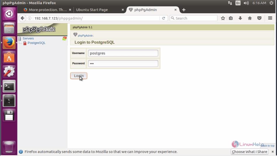 How to Install PostgreSQL and phpPgAdmin in Ubuntu   LinuxHelp Tutorials