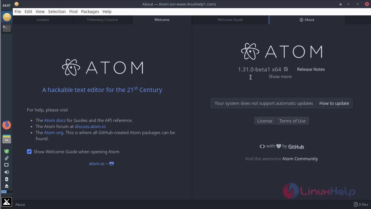 install github atom ubuntu