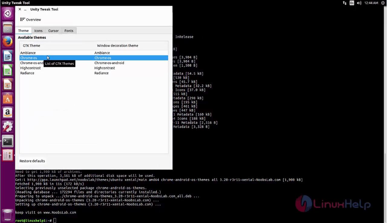 How to install Chrome OS theme on Ubuntu   LinuxHelp Tutorials