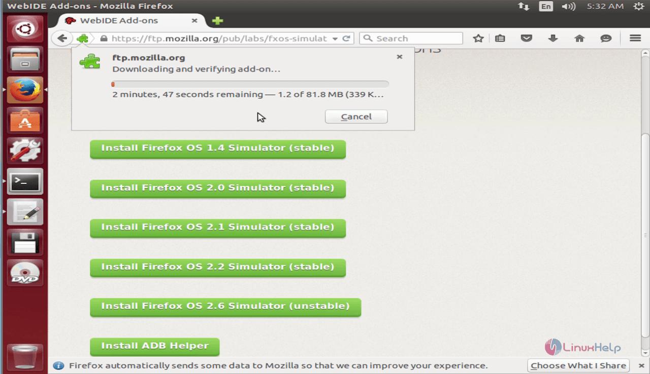 How to install Firefox OS Simulator in Ubuntu | LinuxHelp Tutorials