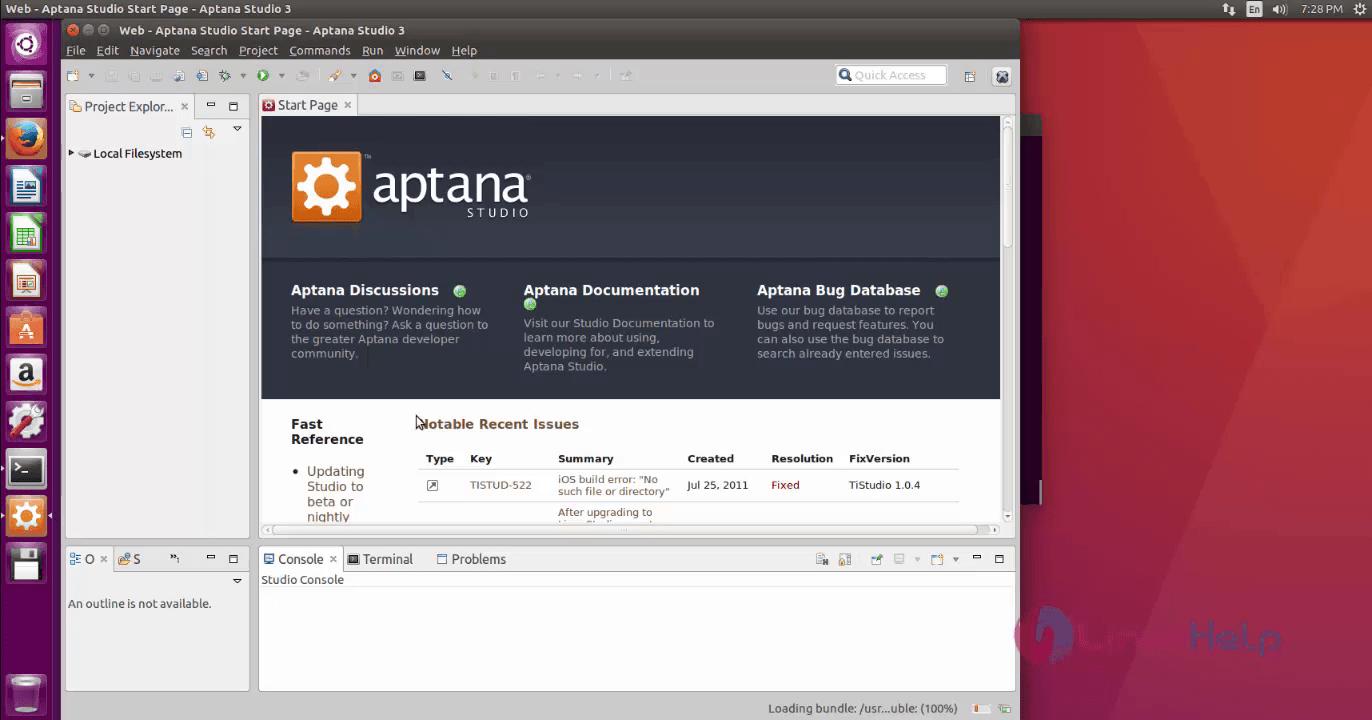 Installation-Aptana-studio3-Ubuntu16.04-ready