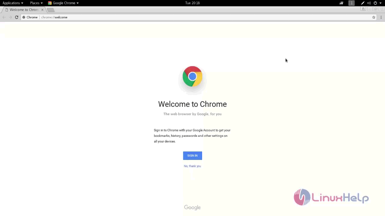 How to install Chrome on Kali Linux | LinuxHelp Tutorials