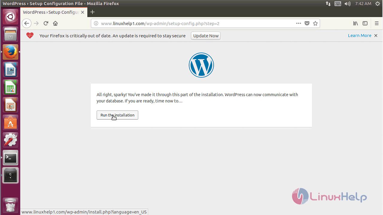 Wordpress 4.9.4