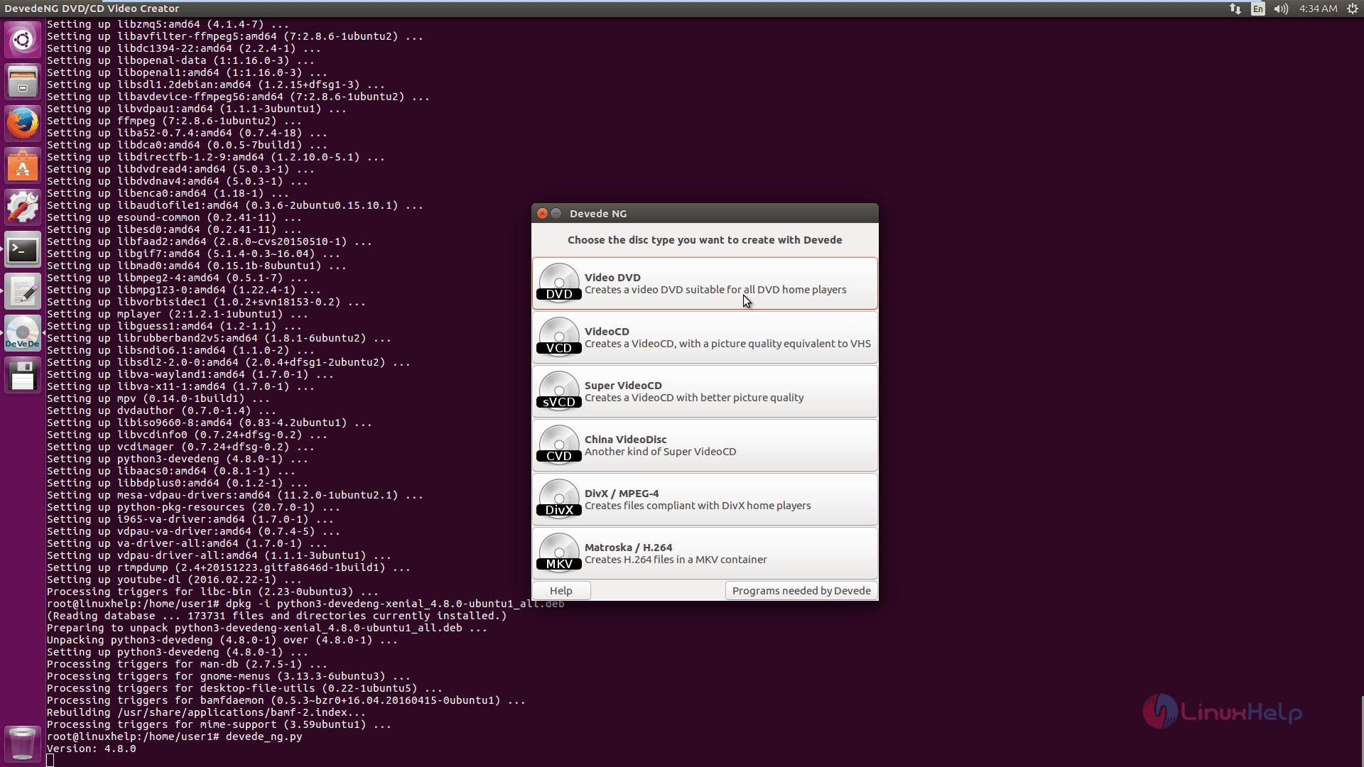How to install devede in ubuntu | linuxhelp tutorials.