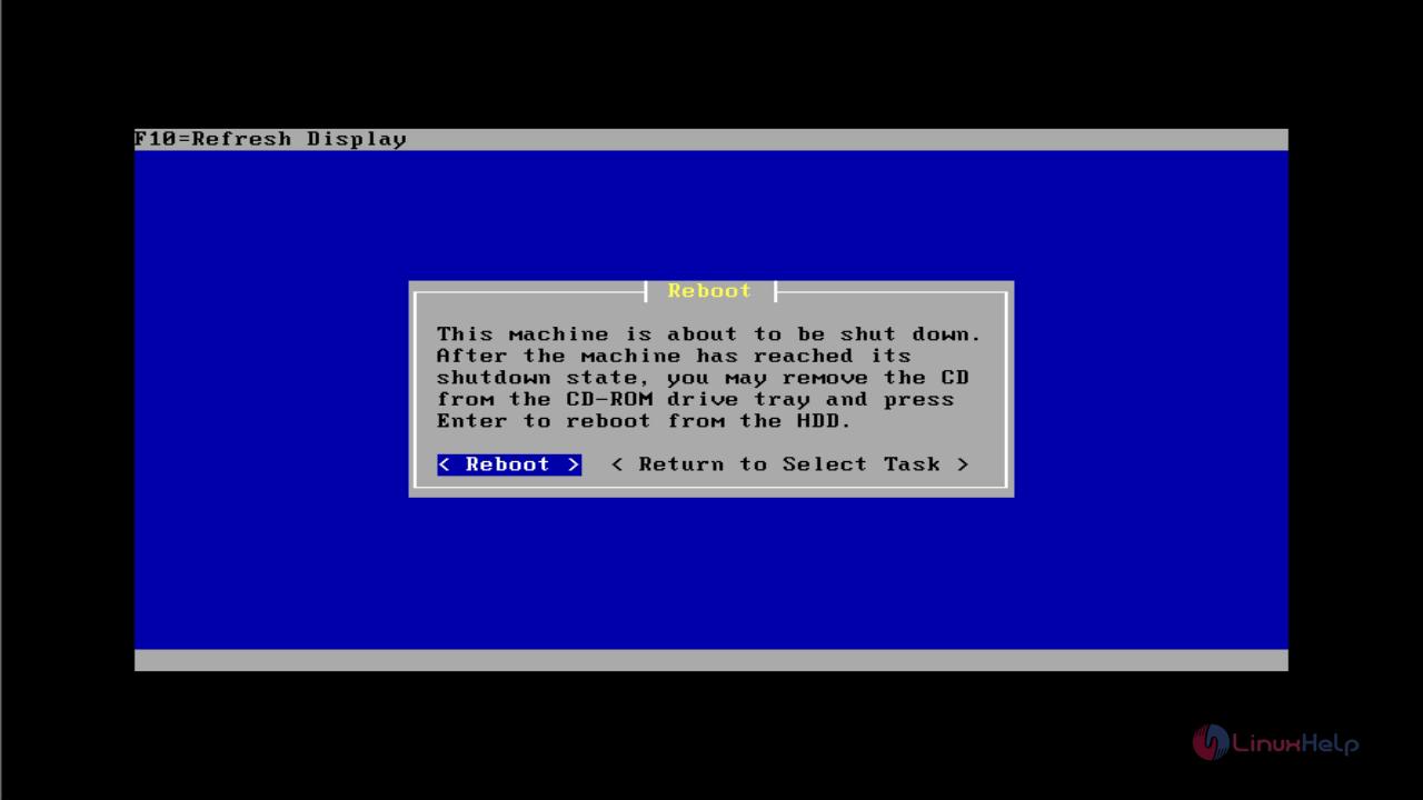 Installation-OPNsense-firewall-routing-platform-Linux-reboot