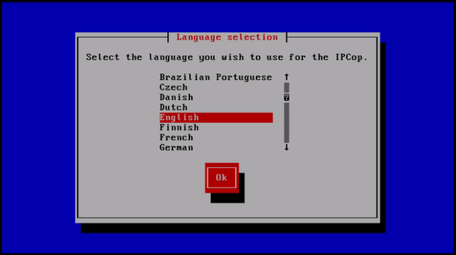 Installation-IPCop-manages-firewall-appliance-Linux-net-filter-framework-language